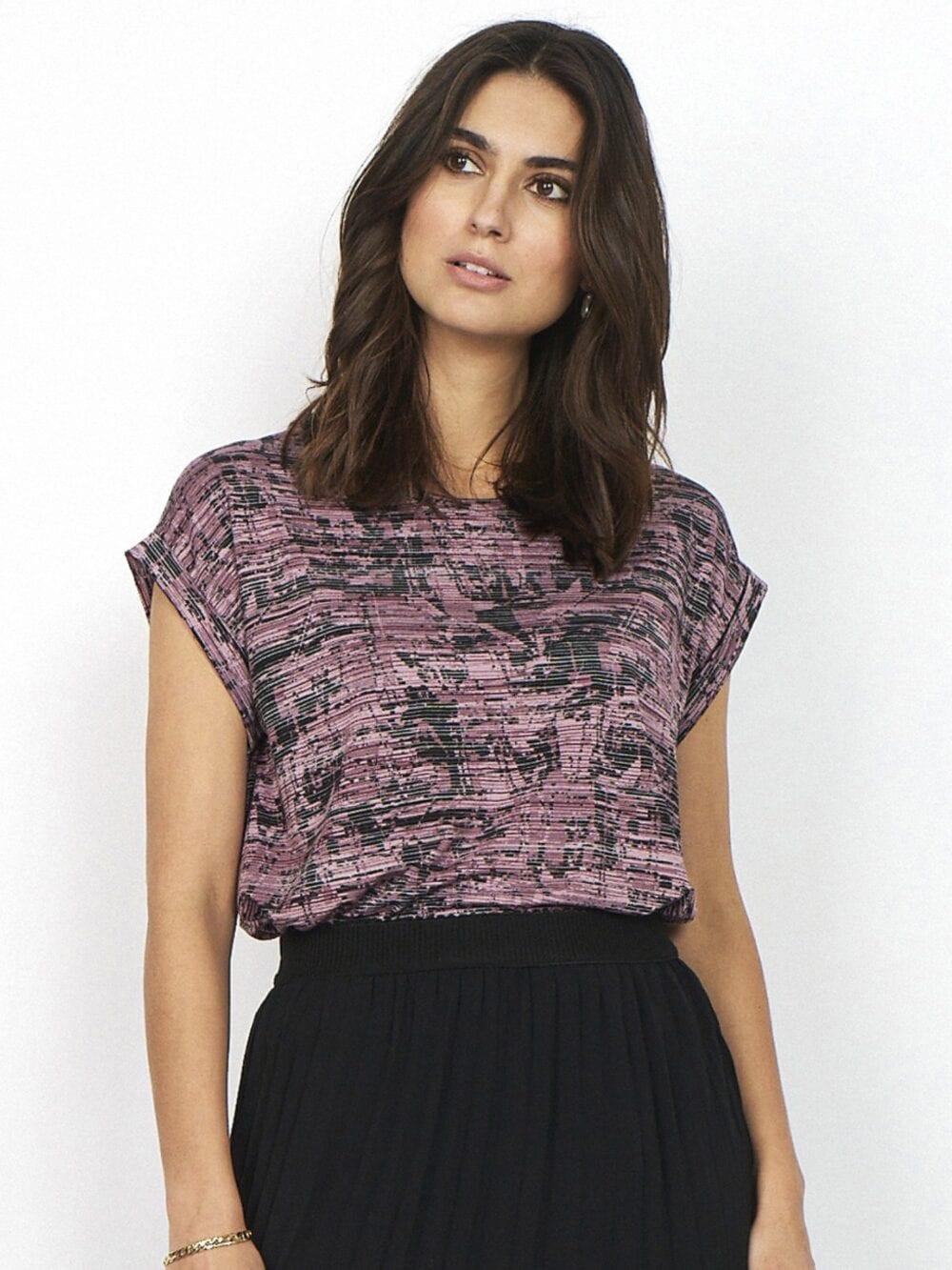 Soyaconcept SC-GALINA 9 T-shirt Rosa