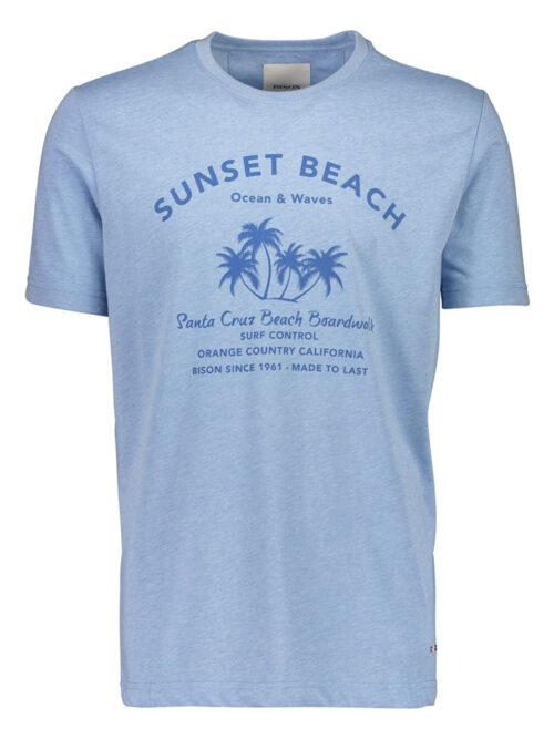 Bison T-shirt 80-400013 Blue