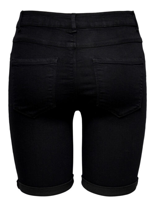 Only ONLRAIN Life Mid Long Shorts Black