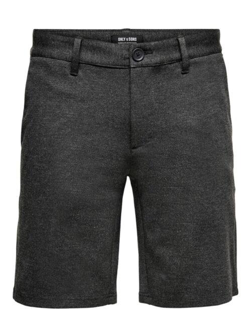 Only & Sons Mark Shorts Dark Grey Melange