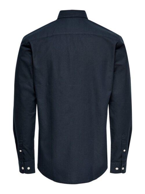Only & Sons Onsneil Life LS Oxford Skjorte Dark Navy