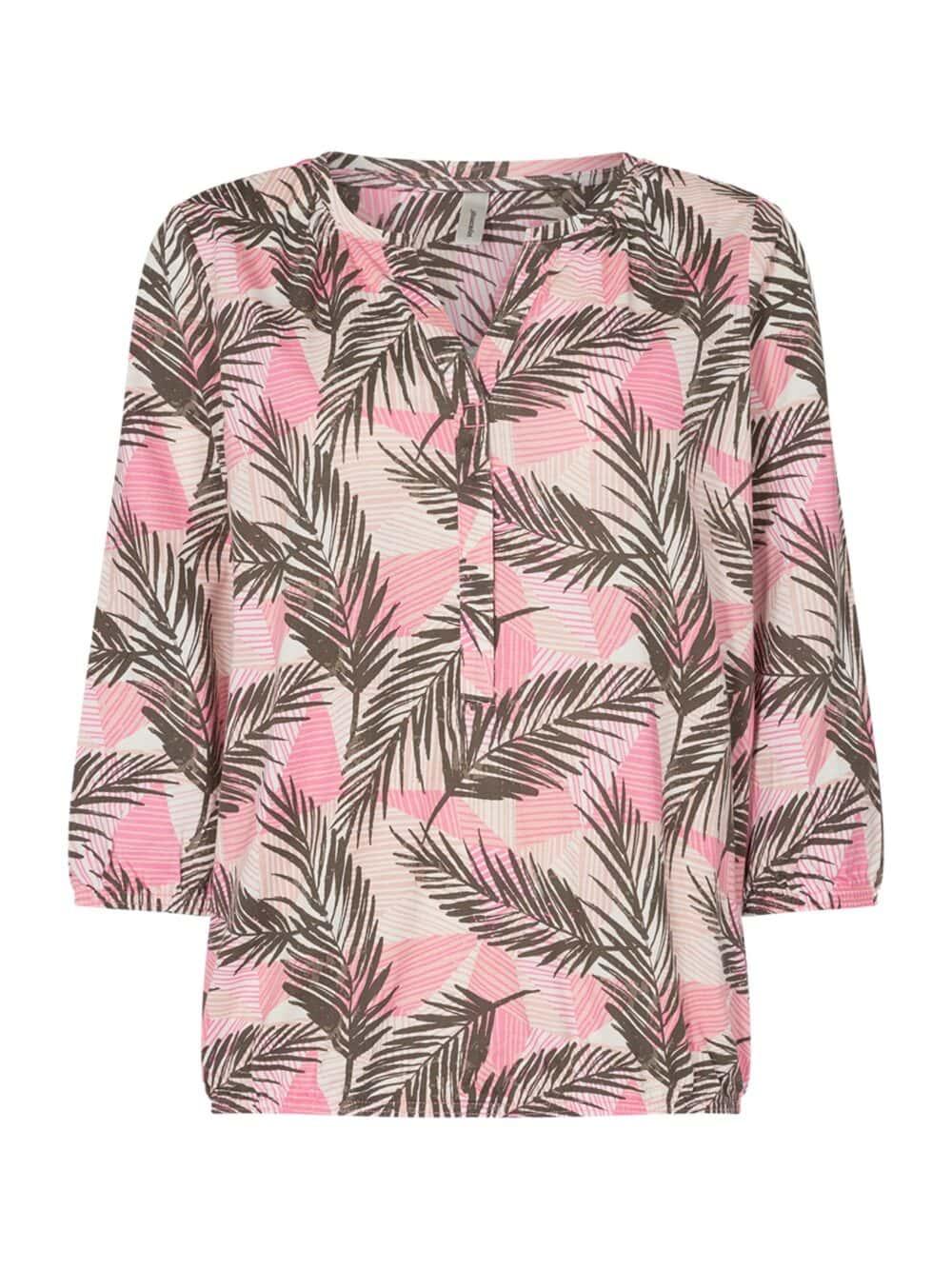 Soyaconcept SC-FELICITY AOP 315 Bluse Pink