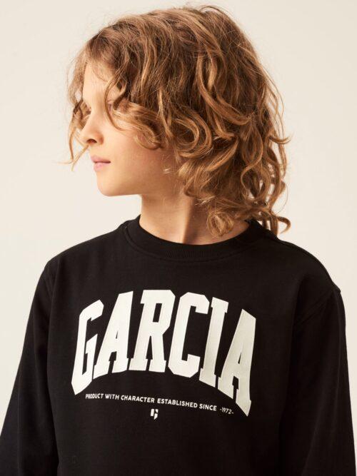 Garcia Sweatshirt Z3027 Sort
